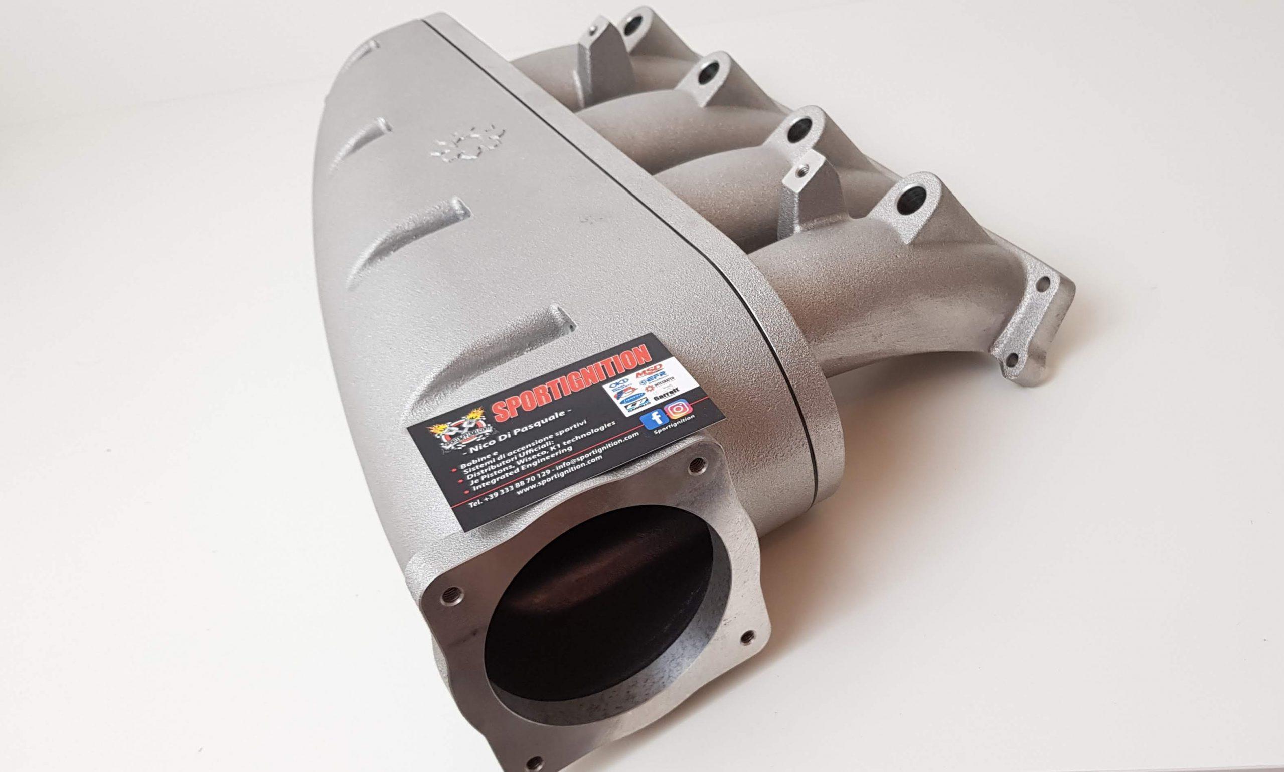 Intake manifold 1.8t 20v Vw Audi IE 80mm Body Throttle SILVER