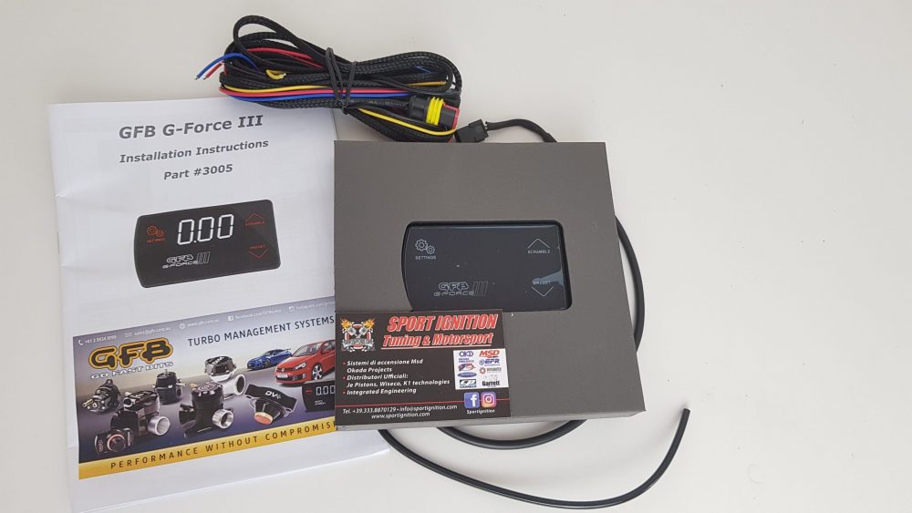 G-Force III Electronic Boost controller GFB 3005