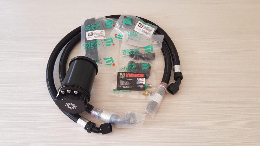 I.E. Oil Catch Can 2.0Tfsi Audi Vw Ea113 OEM valve cover