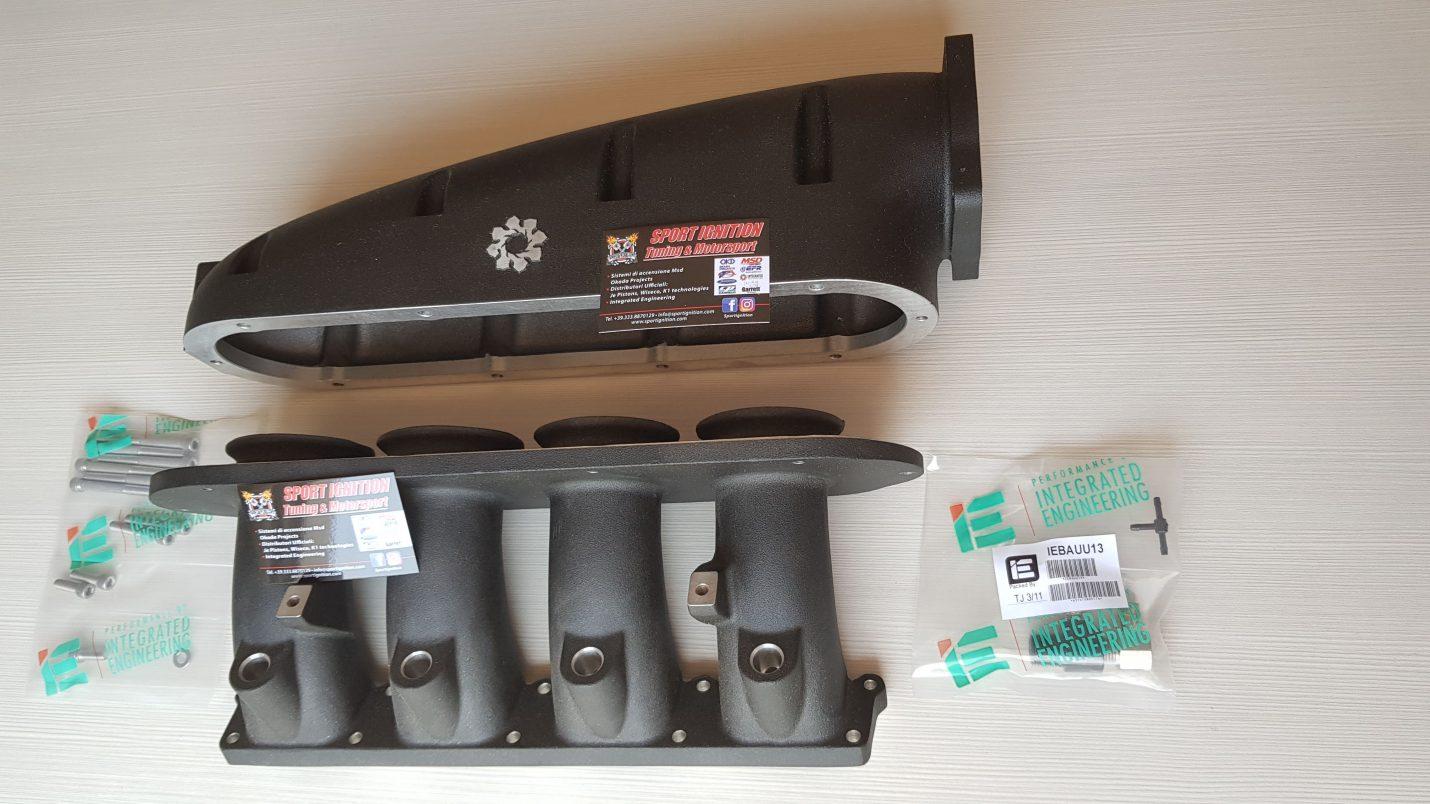 Intake Manifold IE Audi Vw 1.8t 20v IEIMVA1-BK-80MM BLACK