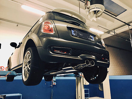 Mini Cooper S r56 Full stainless steel Exhaust System 63.50mm