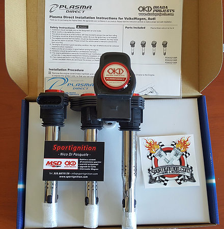 Okada Projects Motorsport coils Vw Audi 2.0tfsi Ea113 2.0 Tsi 1st gen Ea888