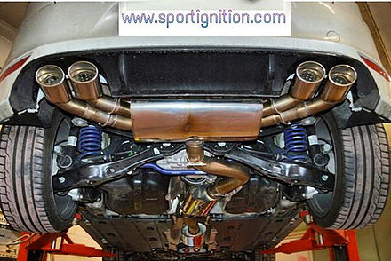 Audi S3 8v Vw Golf 7 Gti stainless steel Exhaust system