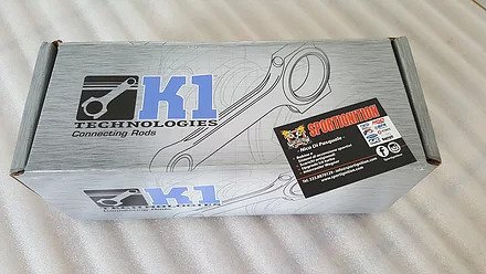 K1Technologies Forged connecting Rods Ford Focus Rs Mk1 with Arp 2000