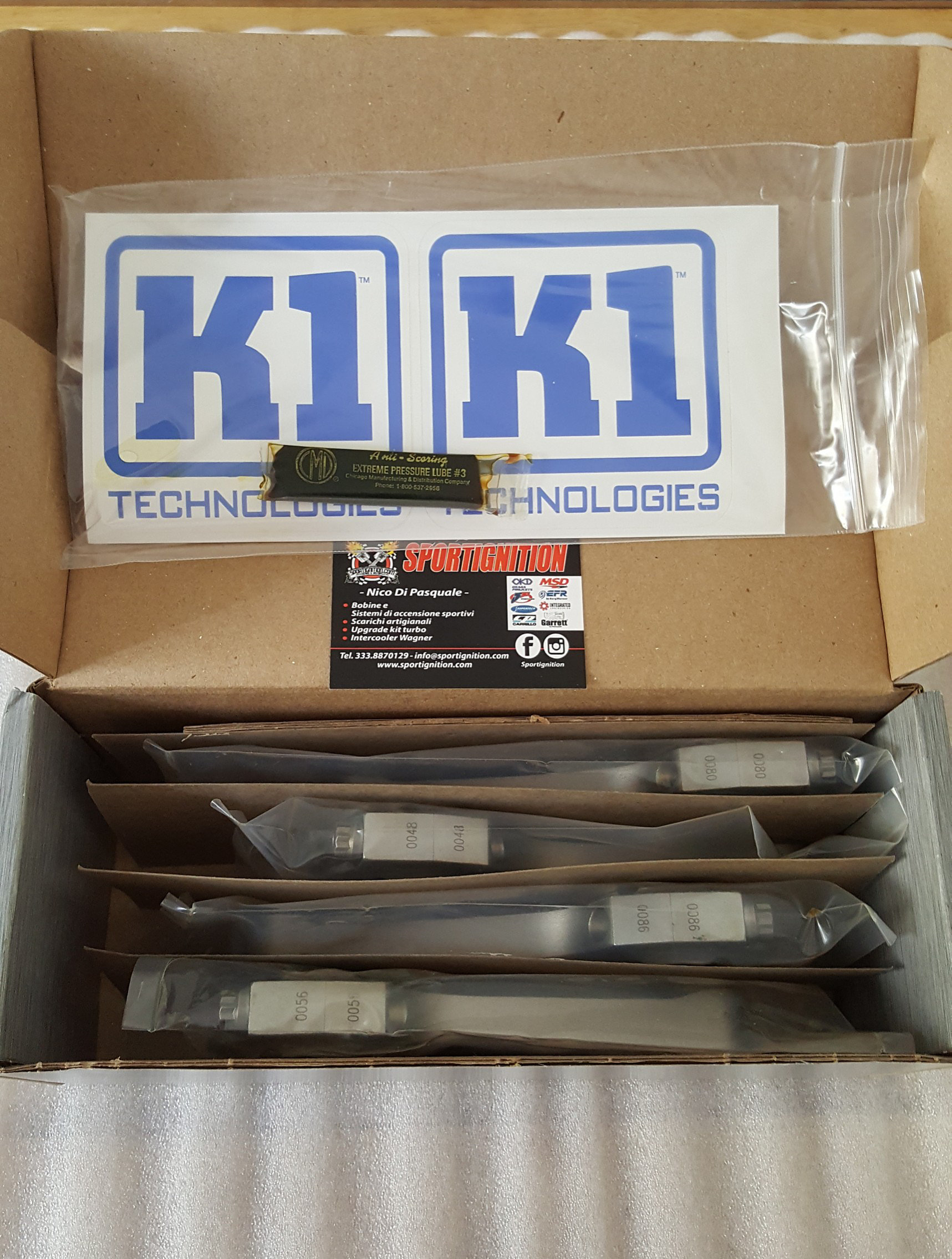 K1 Technologies Rods Nissan Silvia S13 ca18det 1.8 16v