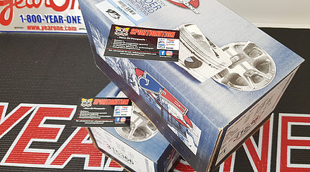 Je Pistons 72.50mm 315367 Fiat Abarth 1.4tjet Cinquecento Punto, Alfa Mito, Lacia