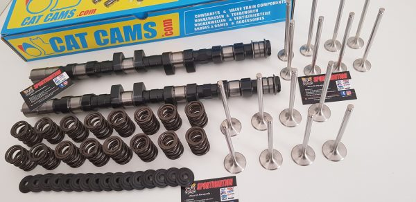 2-Complete Head work Lancia Delta 2.0 16v turbo Fiat Coupè custom valves and springs retainers Catcams Camshafts