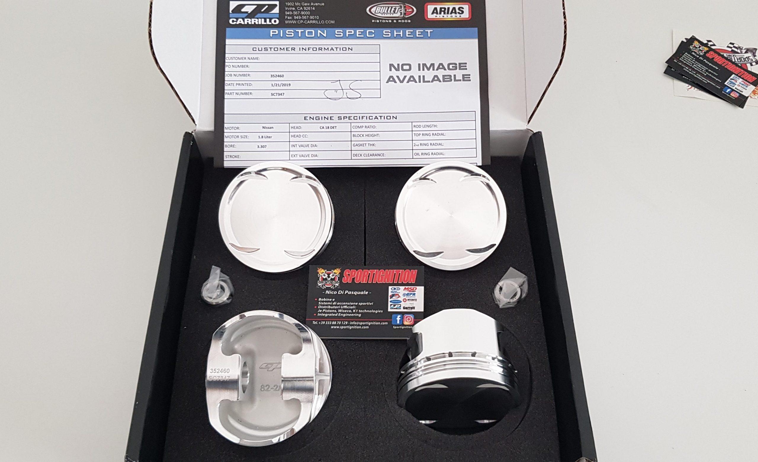 CP Carrillo Sc7347 Nissan Silvia S13 C18det +1mm oversize 8.5.1