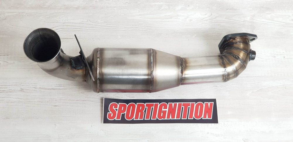 7-Downpipe sport cat Mini Cooper S r56 Turbo Peugeot 207 Rc Citroen Ds3