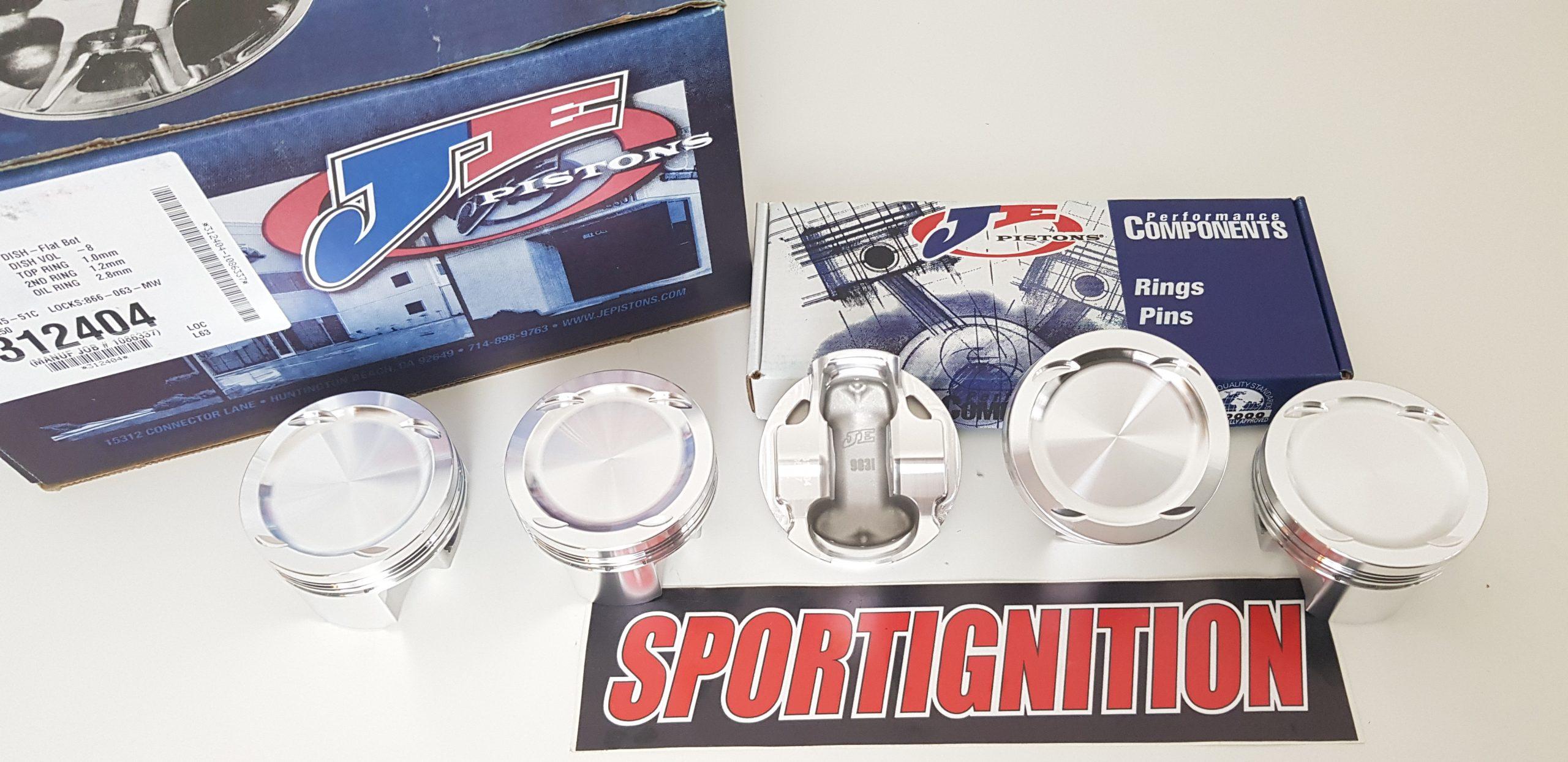 Je Pistons 312404 Fiat Coupè 20v Sportignition