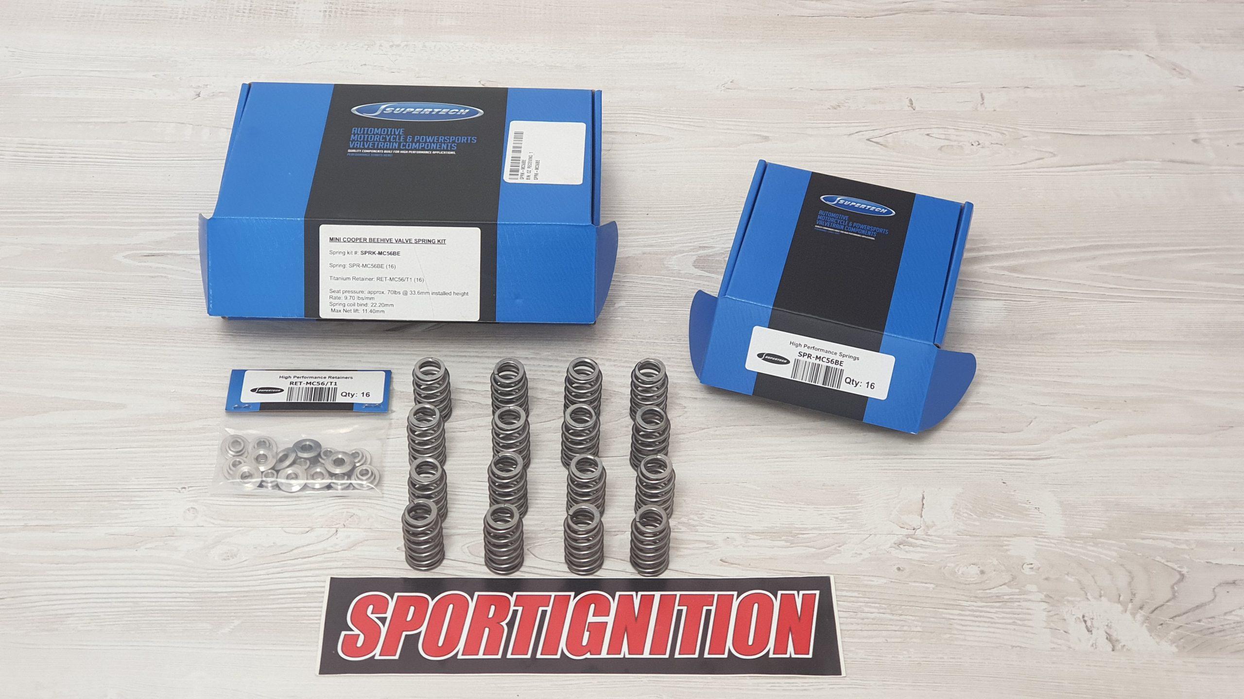 SPRK-MC56BE SPRING KIT MINI N14 N18 OPEL OPC Z16LER SPORTIGNITION