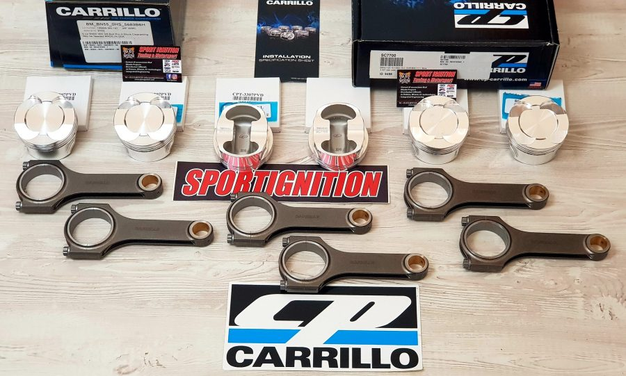 COMBO KIT RODS+PISTONS CP CARRILLO BMW S55B30 SC7700 SPORTIGNITION