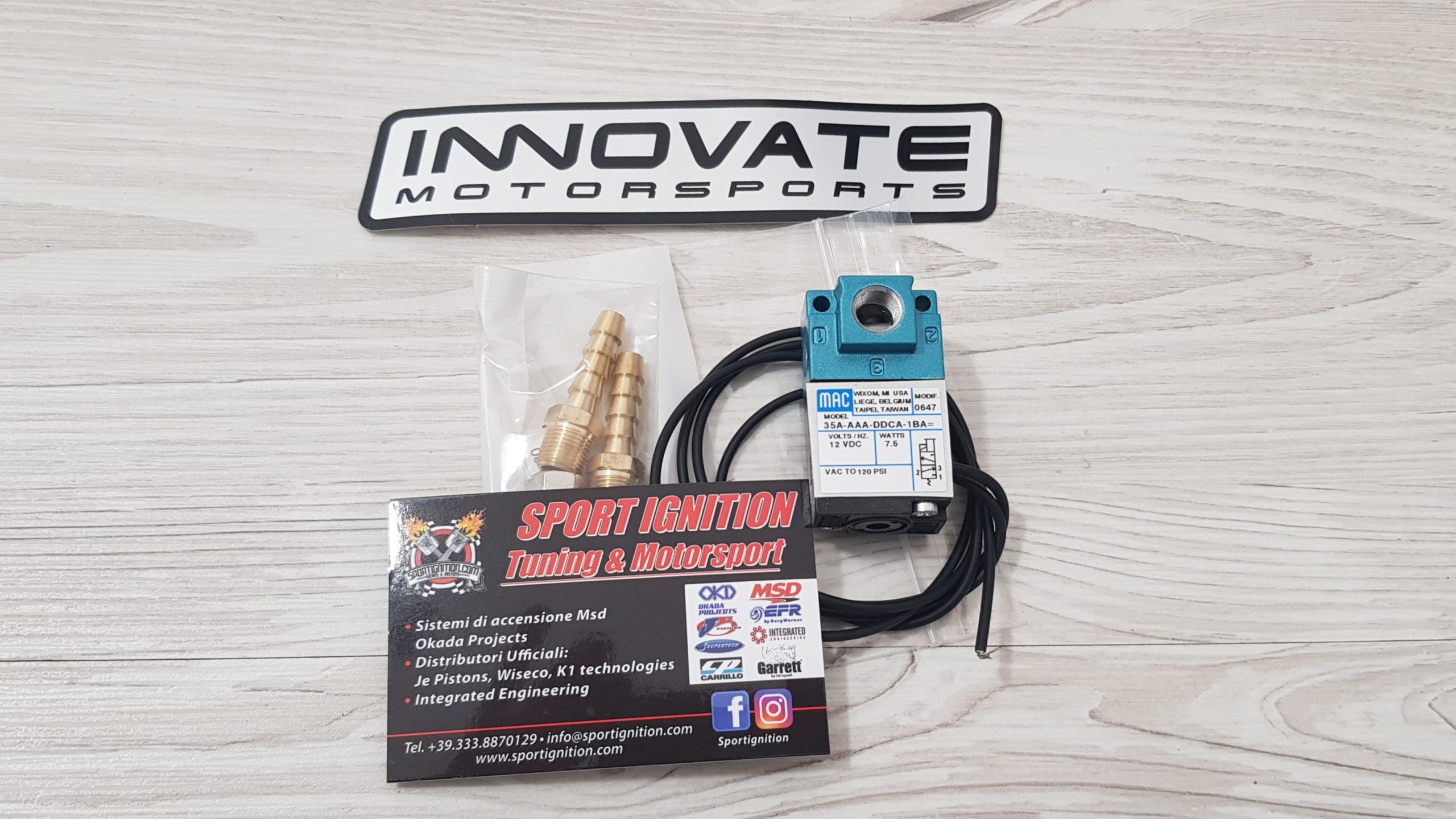 INNOVATE MAC BOOST CONTROL 4 PORT SPORTIGNITION