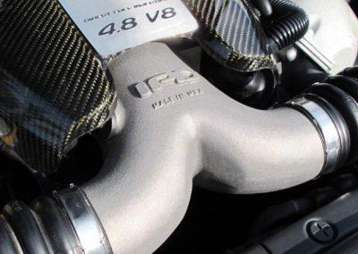 Panamera_Turbo_Plenum Sportignition 4 Installed