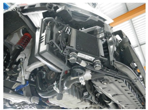 VW GOLF R RHD TRANSMISSION COOLER SPORTIGNITION
