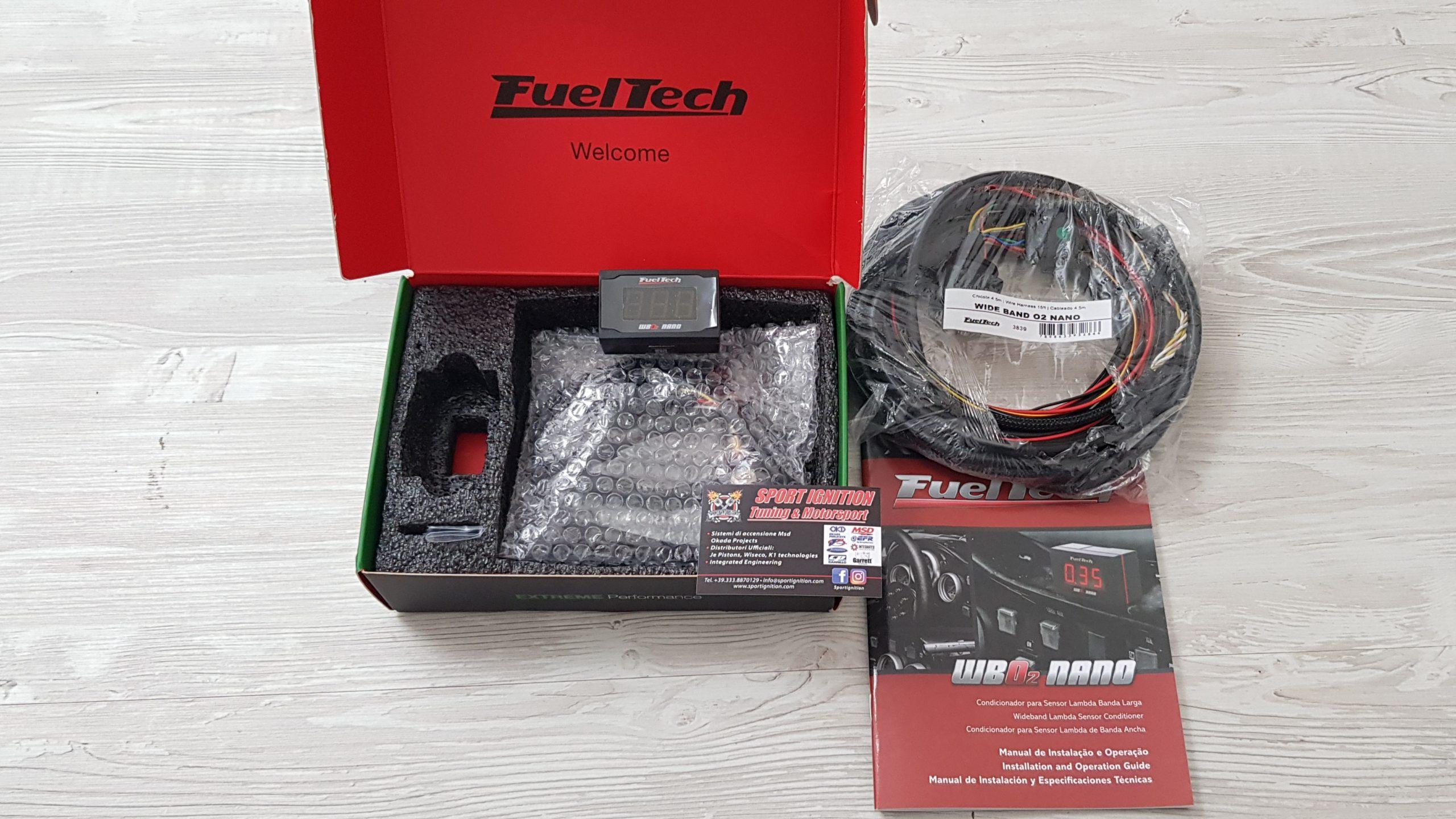 Fuel tech Nano WB O2 Sportignition
