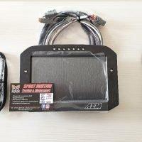 Aem Flat Panel logging digital dash diplay CD-7 Carbon 30-5701F Sportignition