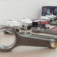 COMBO KIT JE PISTONS VW R32 3.2L V6 RODS EUROSPEC
