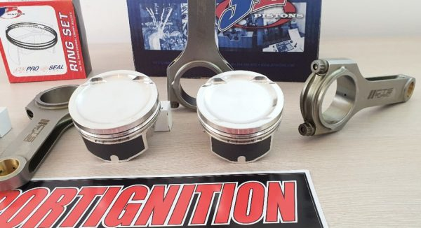 COMBO JE PISTONS FORGED PISTONS H BEAM CTS TURBO RODS DRILLED VW AUDI EA113 2.0TFSI SPORTIGNITION 1